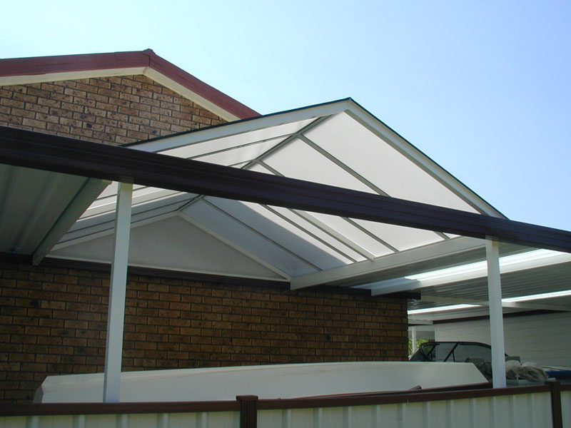 Commercial steel awnings commercial awnings by omar for Gable carport prices