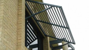 Arm supported Louvres and Awnings