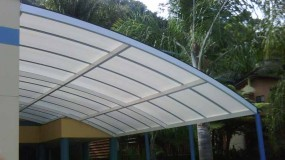 Barrel Vault Awnings