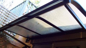 Bullnosed Window Awnings