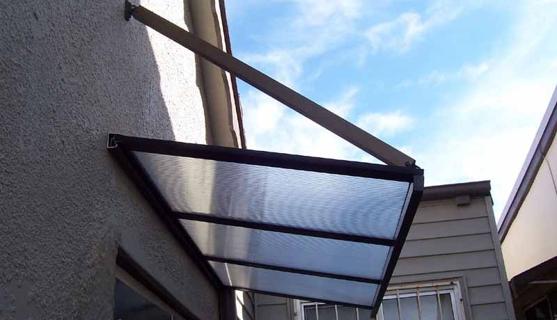 Flat Window Awnings