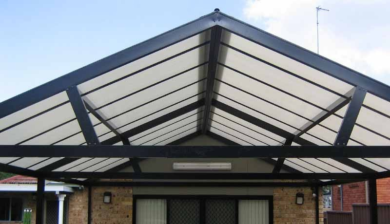 Gable Roof Awnings